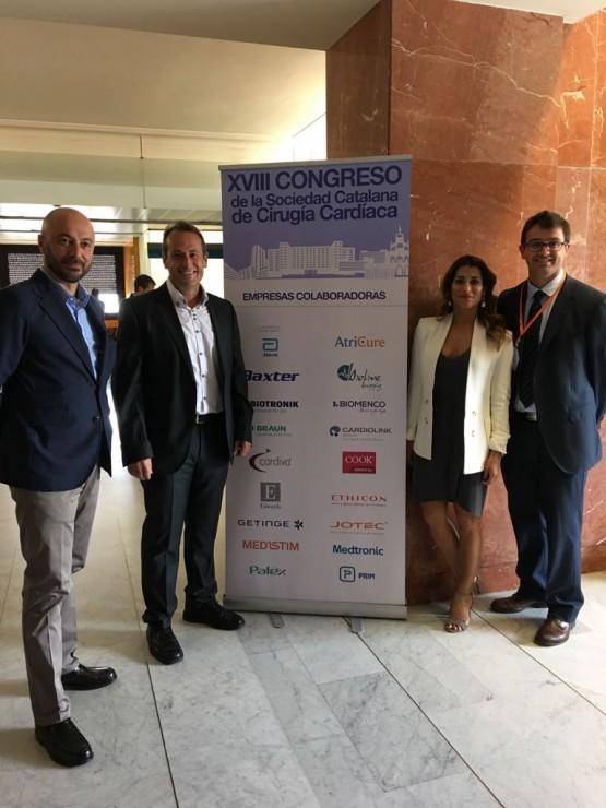 Bioline Supply en el XVIII Congreso de la Catalana de Cirugía Cardíaca